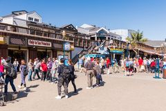 Pier 39 of San Francisco Royalty Free Stock Images