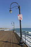 Pier santa monica, los angeles Stock Photography