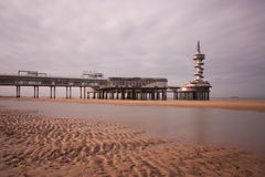 Pier of Scheveningen Royalty Free Stock Photography