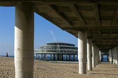 The Pier of Scheveningen, city The Hague Stock Images