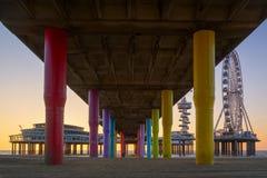 The Pier of Scheveningen Stock Image