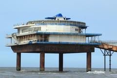 Pier in Scheveningen Royalty Free Stock Photo