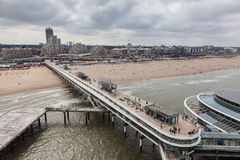 The Pier in Scheveningen, Holland Stock Image