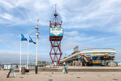 The Pier in Scheveningen, Holland Stock Images