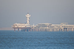 Pier of Scheveningen Stock Photo