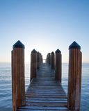 Pier by sea Royalty Free Stock Photography