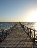 Pier at sea Royalty Free Stock Images