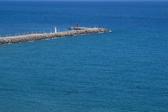 Pier sea Stock Photography