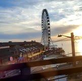 Pier 57 stock photo
