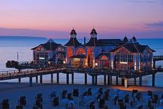 Pier of sellin on ruegen island Royalty Free Stock Images