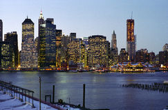 Pier Seventeen Waterfront, Manhattan, New York USA royalty free stock image