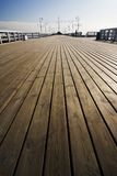 The pier in Sopot. The wooden pier in Sopot - Poland Stock Images