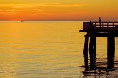 Pier in Sopot royalty-vrije stock fotografie