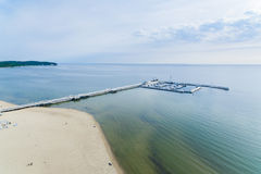 The pier of Sopot Stock Photos