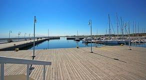 Pier in sopot. Pier in Sopot city . Poland Stock Photography