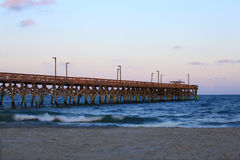 Pier in South Carolina Stock Photos