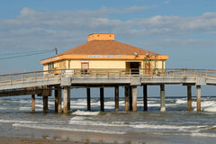 Pier in southern Texas, USA Royalty Free Stock Image