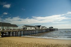 The pier at southwold Stock Images