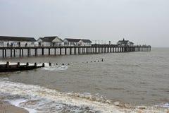 Pier at Southwold, Norfolk, UK Stock Photo