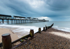 The Pier at Southwold Stock Photos