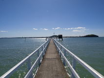 Pier in St Heliers Stock Photo