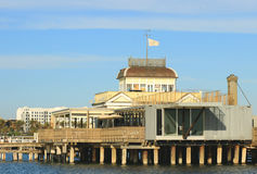Pier at St. Kilda Royalty Free Stock Photo