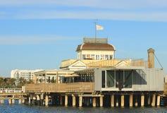 Pier at St. Kilda Royalty Free Stock Photo