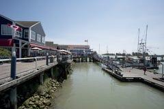 Pier at Steveston Stock Image