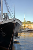 At the pier, Stockholm Royalty Free Stock Image