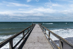 On the pier Royalty Free Stock Photography