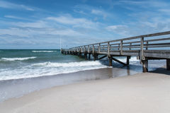 The pier Royalty Free Stock Photos