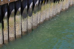 Pier Structure Royalty Free Stock Photos
