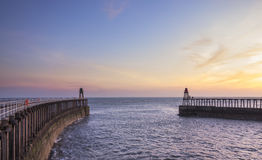 Pier at Sunrise Royalty Free Stock Images