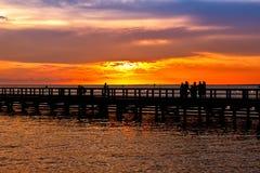 Pier Royalty Free Stock Photo