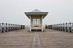 Pier in Swanage. The famous pier in Swanage Stock Photography