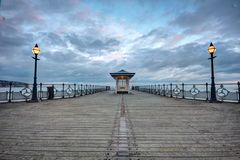 The Pier at Swanage in Dorset Stock Photo