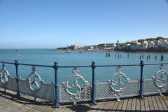Pier at Swanage Stock Photos