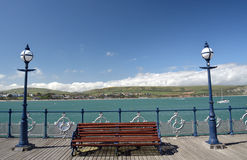 Pier at Swanage Royalty Free Stock Photos