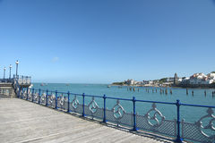 Pier at Swanage Stock Photography