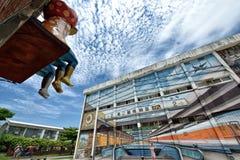 Pier-2 sztuki centrum w Kaohsiung Obrazy Royalty Free