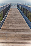 Pier to The Atlantic Ocean Royalty Free Stock Photo