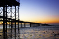 Pier to Heaven Stock Photography