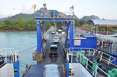 A pier to Koh Samui Stock Photo