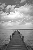 A Pier to the Sky Stock Image