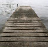Pier-Trübsinn Stockbilder