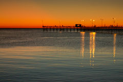 Pier twilight Royalty Free Stock Photography