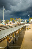 The pier in Venice Beach,  Stock Images