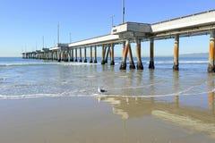 Pier at Venice Beach. Southern California Royalty Free Stock Photo