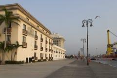 Pier of Veracruz Royalty Free Stock Photos