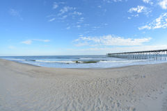 Pier view Royalty Free Stock Photography